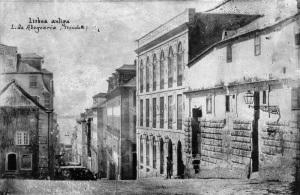 In Largo de Abegoaria (oggi Largo Bordalo Pinheiro) nel XIX secolo si trovava il Casinò di Lisboa