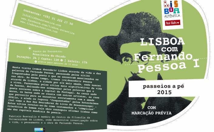 Passeio literário Lisboa com Fernando Pessoa