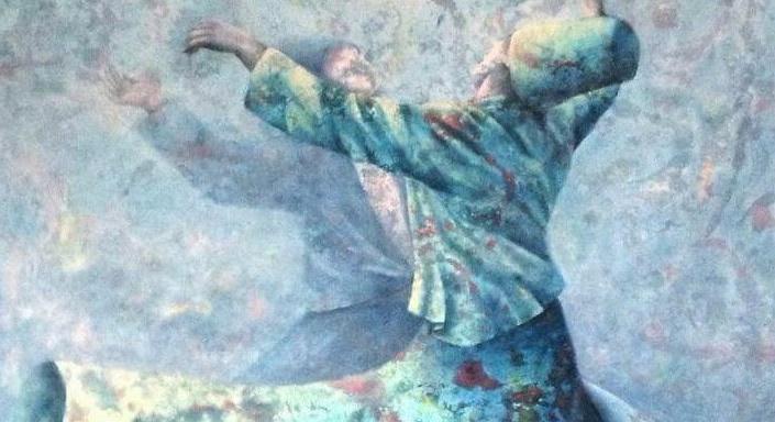 dervixe sufi rodopiante